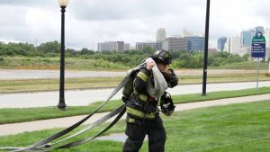 Kansas City Mo Fire Department 100ft and 200ft Hose Load Options