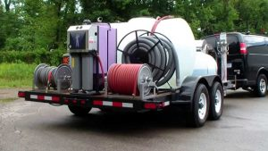 Extreme series commercial pressure washing & 2 step fleet washing & trailer package.
