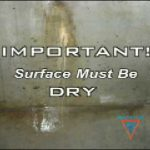 Poured Foundation Crack Repair – Instructions using Emecole Low-Pressure Crack Injection