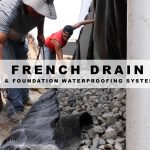French Drain and Foundation Waterproofing System