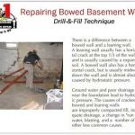 A-1 Concrete Leveling and Foundation Repair- Bowed Basement Wall Repair System